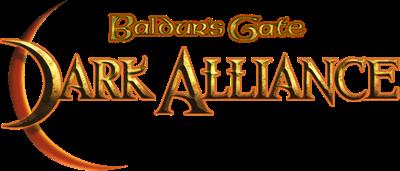 Baldur's Gate: Dark Alliance - Clear Logo