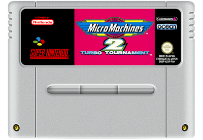 Micro Machines 2: Turbo Tournament - Fanart - Cart - Front