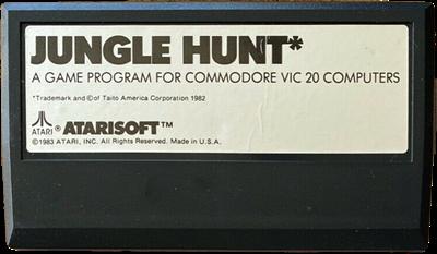 Jungle Hunt - Cart - Front