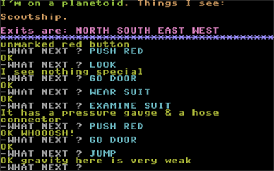 Strange Odyssey - Screenshot - Gameplay