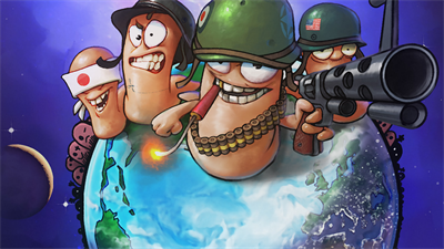 Worms World Party - Fanart - Background