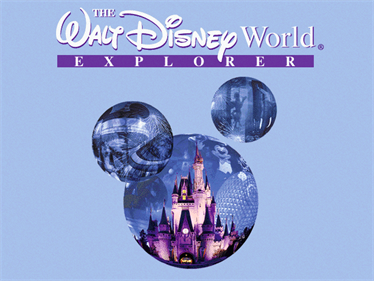 The Walt Disney World Explorer - Screenshot - Game Title