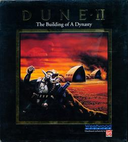 Dune II: The Building of a Dynasty - Box - Front