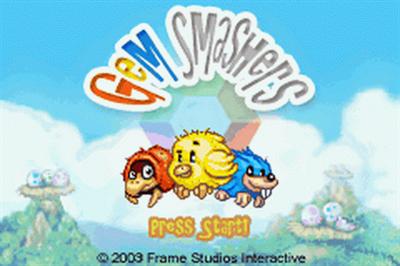 Gem Smashers - Screenshot - Game Title