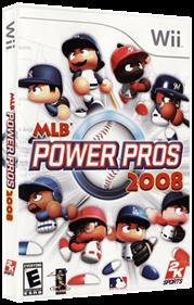 MLB Power Pros 2008 - Box - 3D
