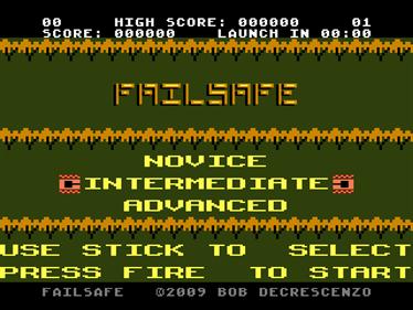 FailSafe - Screenshot - Game Title