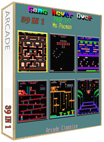 39 In 1: MAME Arcade Classics Bootleg - Box - 3D