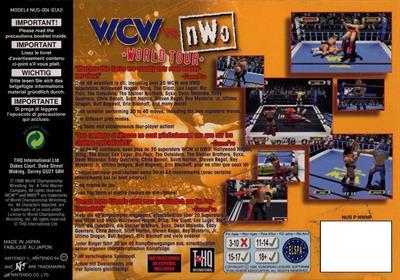 WCW Vs. nWo: World Tour - Box - Back