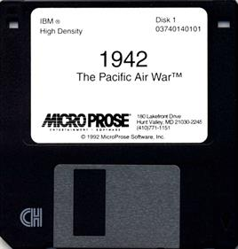 1942: The Pacific Air War - Disc
