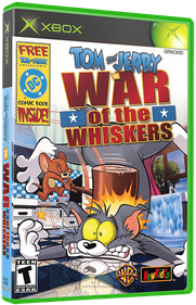 Tom & Jerry in War of the Whiskers - Box - 3D