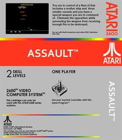 Assault - Box - Back