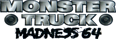 Monster Truck Madness 64 - Clear Logo