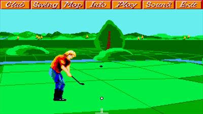 Greg Norman's Shark Attack!: The Ultimate Golf Simulator - Screenshot - Gameplay