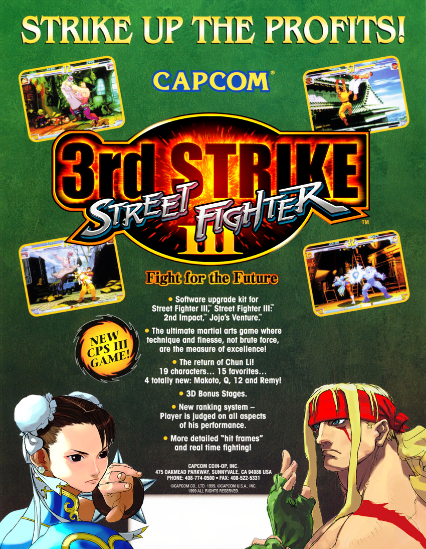 Street Fighter Iii 3rd Strike Fight For The Future Details