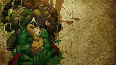 Battletoads in Battlemaniacs - Fanart - Background