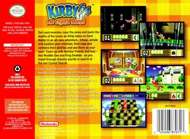 Kirby 64: The Crystal Shards - Box - Back