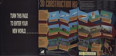 3D Construction Kit - Advertisement Flyer - Front
