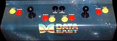 Bad Dudes Vs. DragonNinja - Arcade - Control Panel