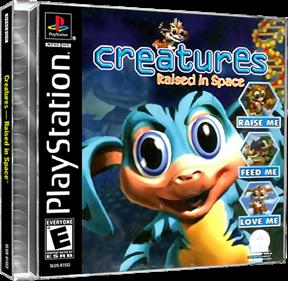 Creatures: Raised in Space - Box - 3D