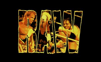 WWF Raw - Clear Logo