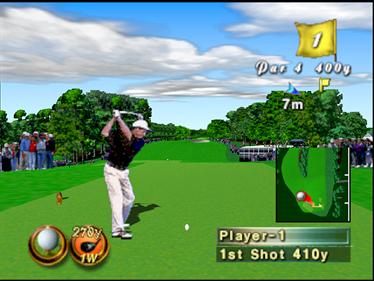 Masters '98: Harukanaru Augusta - Screenshot - Gameplay