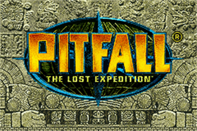 Pitfall: The Lost Expedition - Screenshot - Game Title