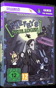 Edna and Harvey: Harvey's New Eyes - Box - 3D
