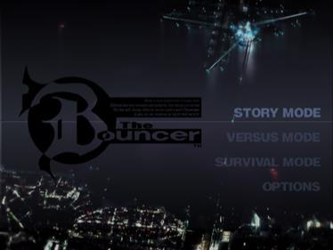 The Bouncer - Screenshot - Game Select