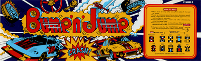 Bump 'n' Jump - Arcade - Marquee