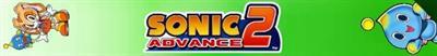 Sonic Advance 2 - Banner