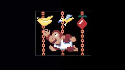 Donkey Kong Junior - Fanart - Background