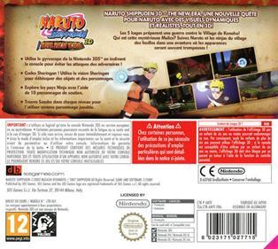 Naruto Shippuden: The New Era  - Box - Back