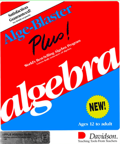 Alge-Blaster Plus! - Box - Front
