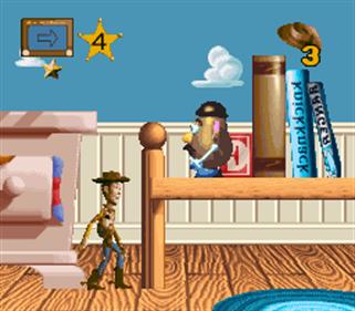 Toy Story - Screenshot - Gameplay