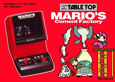 Mario's Cement Factory (Tabletop)