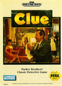 Clue - Box - Front