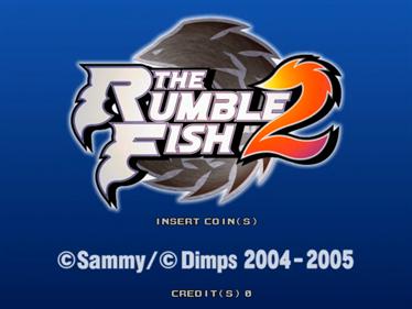 The Rumble Fish 2 - Screenshot - Game Title