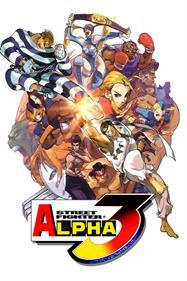 Street Fighter Alpha 3 - Fanart - Box - Front
