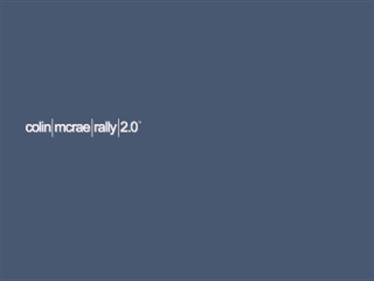 Colin McRae Rally 2.0 - Screenshot - Game Title