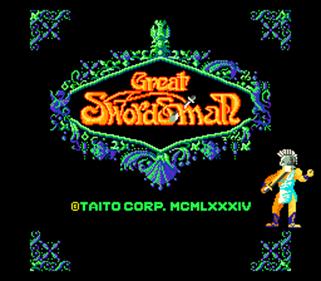 Great Swordsman - Screenshot - Game Title
