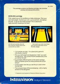 PBA Bowling - Box - Back