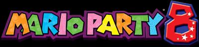 Mario Party 8 - Clear Logo