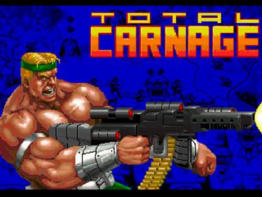 Total Carnage - Screenshot - Game Title