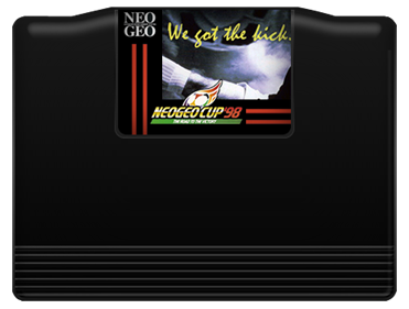 Neo Geo Cup '98: The Road to the Victory - Cart - Front