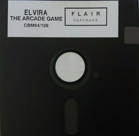 Elvira: The Arcade Game - Disc