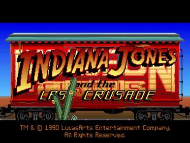 Indiana Jones and the Last Crusade - Screenshot - Game Title