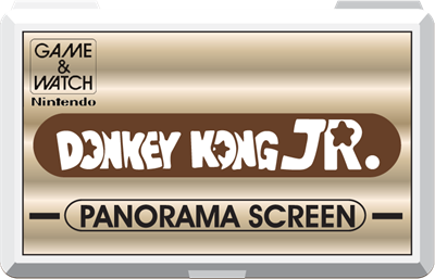 Donkey Kong Jr. (Panorama Screen) - Fanart - Cart - Front