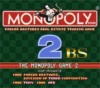Monopoly 2 BS: Red Cup - Screenshot - Game Title