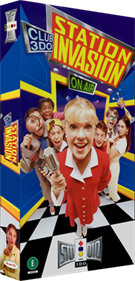 Club 3DO: Station Invasion - Box - 3D