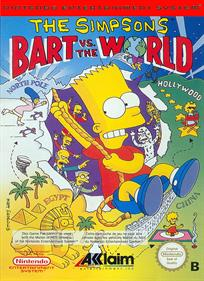 The Simpsons: Bart vs. the World - Box - Front